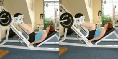 What you need to do exercises for the buttocks in the gym